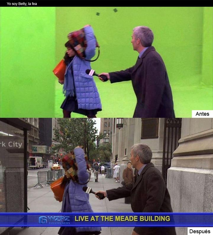 Efectos especiales: 12 ejemplos del antes y el después. #Cine