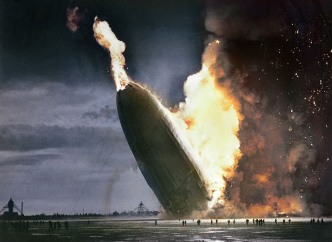 El desastre de Hindenburg en 1937