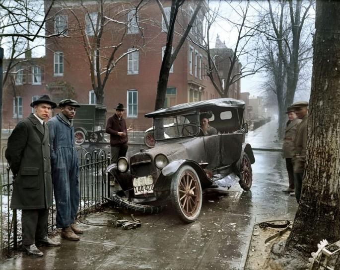 Washington D.C. en 1921 - Fotografía por Sanna Dullaway