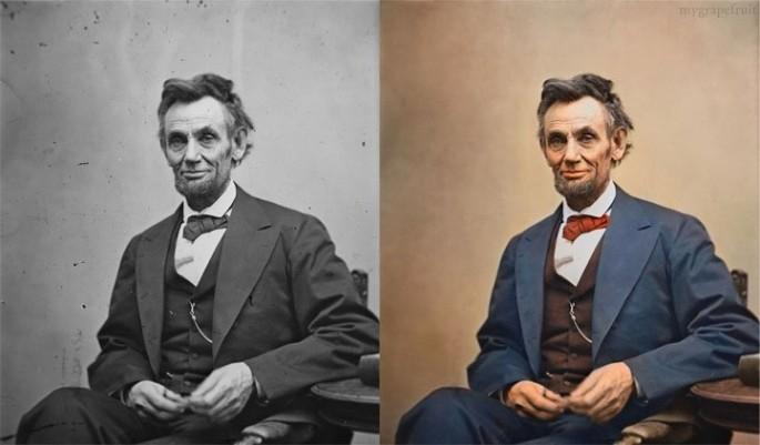 Abraham Lincoln, 1865 - Fotografía por Sanna Dullaway