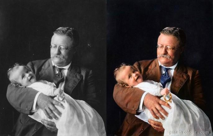 Theodore Roosevelt - Fotografía por Sanna Dullaway