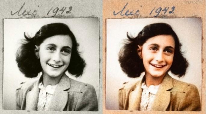 Anne Frank, 1942 - Fotografía por Danna Dullaway