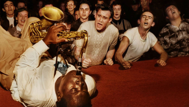 Big Jay McNeely, en el Olympic Auditorium, 1953