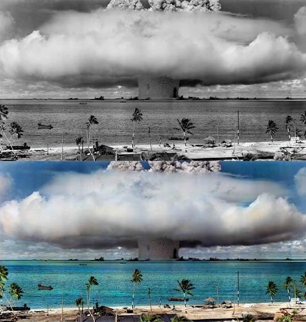 Oparación: Crossroad Atomic Detonation - Fotografía por Sanna Dullaway