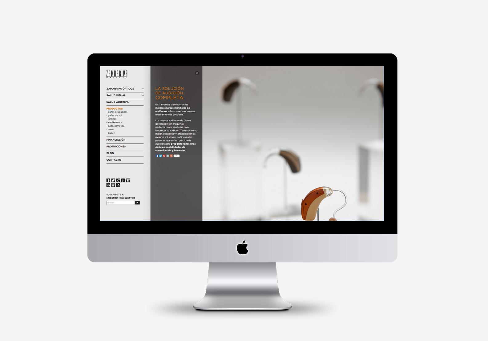 28c0e10d2a Lombok Design ha diseñado la web de Óptica Zamarripa. | Blog ...
