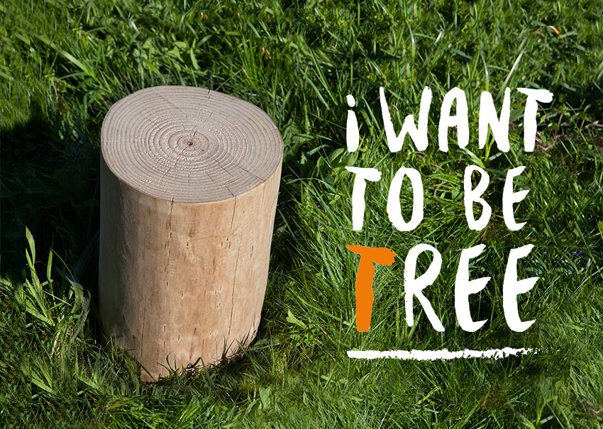 campaña i want to be tree para muebles lufe