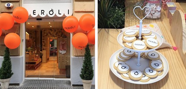 inauguración tienda neroli by nagore