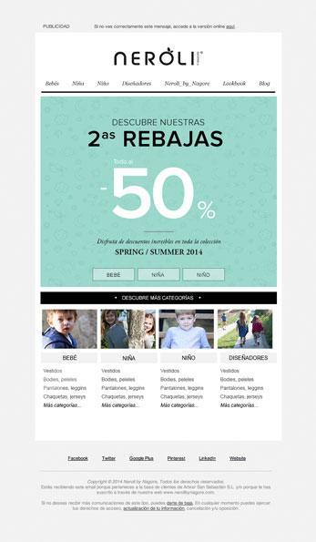 Newsletter - Neroli - Proyectos - Lombok Design