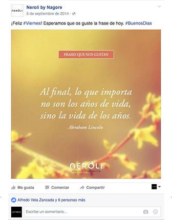 Facebook Neroli by Nagore