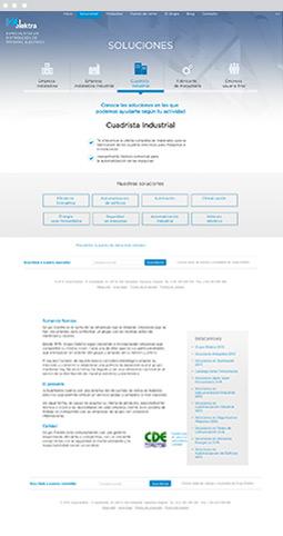 Web Actual - Elektra - Proyectos Lombok Design