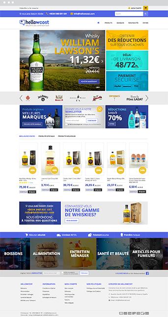 Web Actual - Hellowcost - Proyectos Lombok Design
