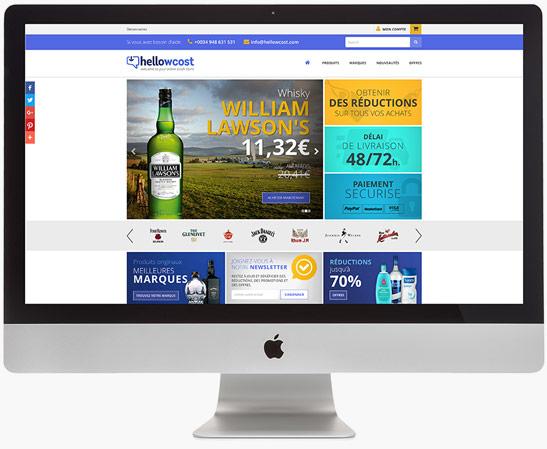 Web actual - The Chef - Proyectos Lombok Design