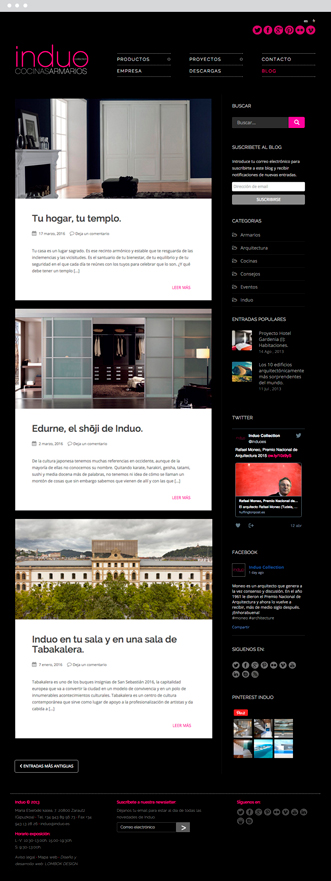 Blog Actual - Induo - Proyectos - Lombok Design