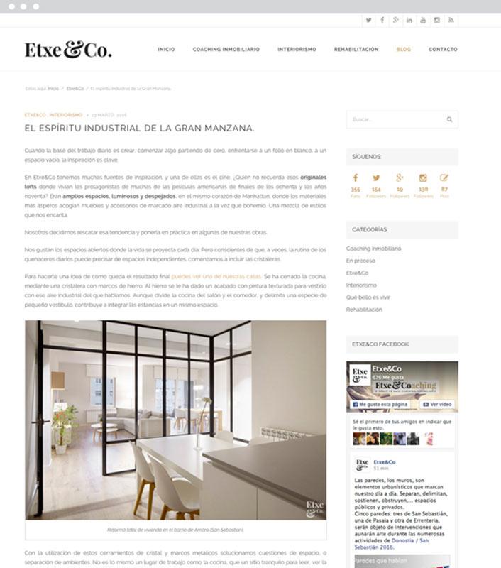 Blog - Etxe&Co - Proyectos - Lombok Design