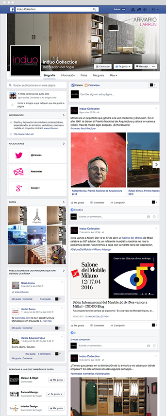 Facebook - Social Media - Induo - Lombok Design