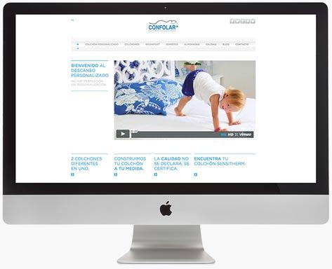 Web actual - Confolar - Proyectos - Lombok Design