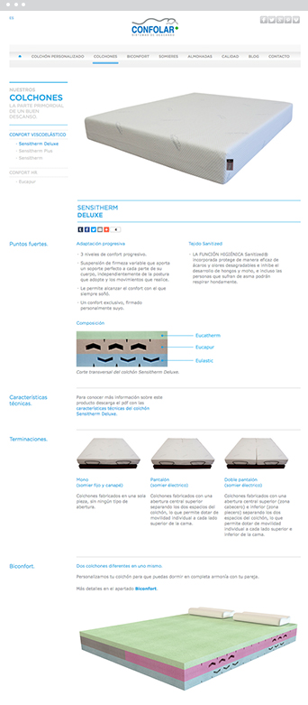 Web actual 1 - Confolar - Proyectos - Lombok Design