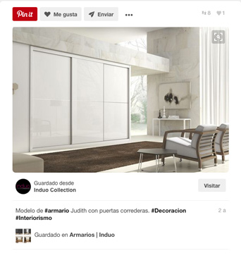Pinterest - Social Media - Induo - Lombok Design
