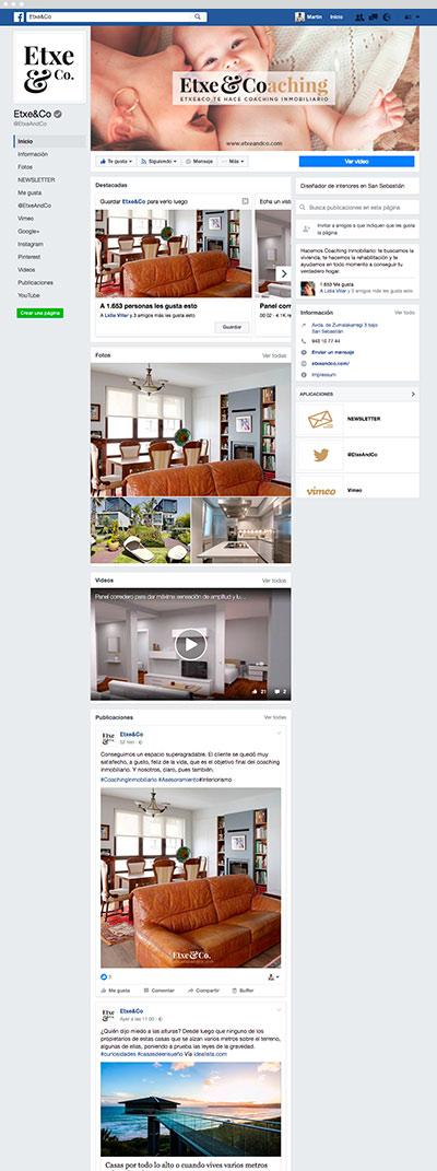 Facebook Etxe&Co
