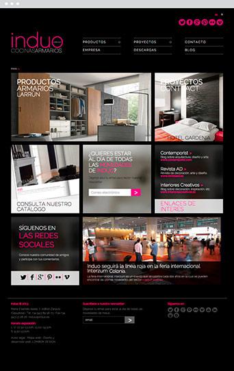 Web Actual 01 - Induo - Proyectos - Lombok Design