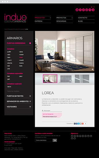 Web Actual 02 - Induo - Proyectos - Lombok Design