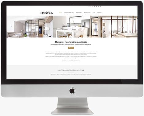 Web Actual - Etxe&Co - Proyectos - Lombok Design