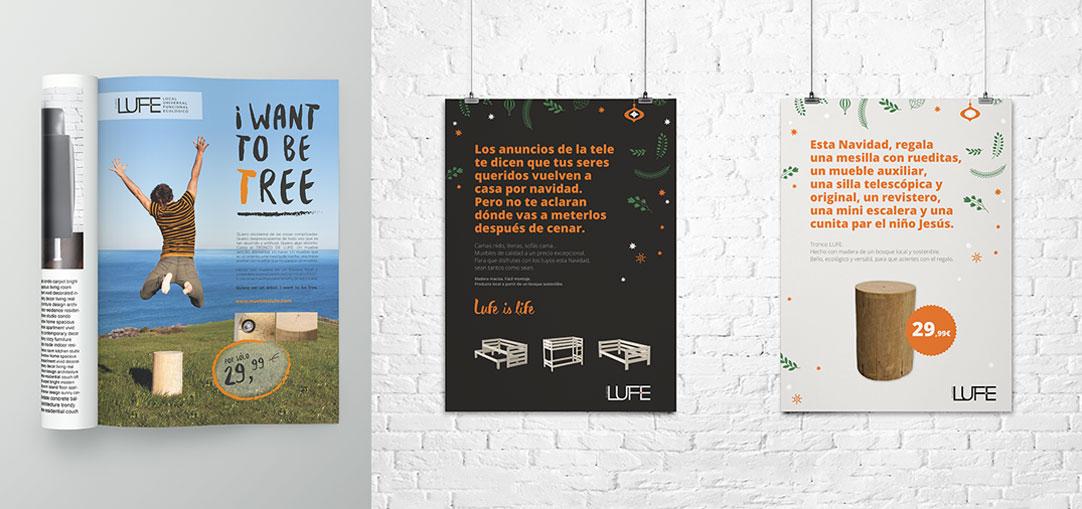 Branding - LUFE - Proyectos - Lombok Design