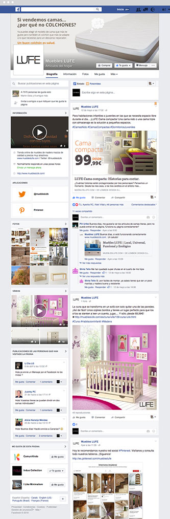 Facebook Muebles Lufe